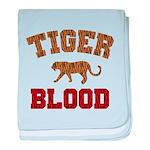 Tiger Blood baby blanket