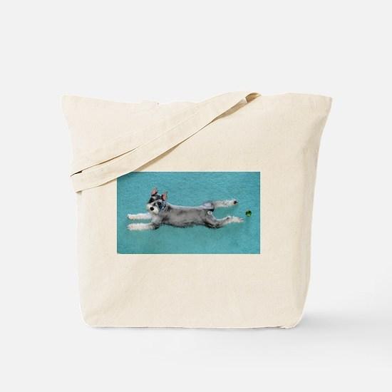 Puppy Yoga Tote Bag