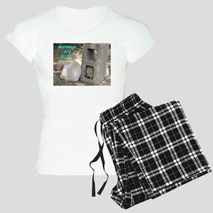 Mornings are Ruff Women's Light Pajamas