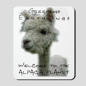 AlpacaPlanet Mouse Pad