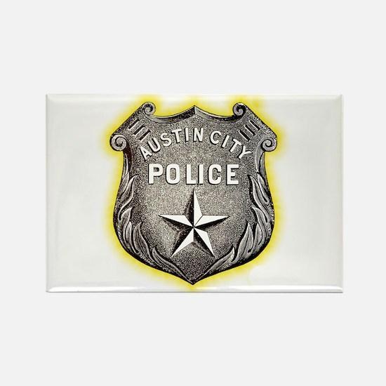 Austin City Police Rectangle Magnet