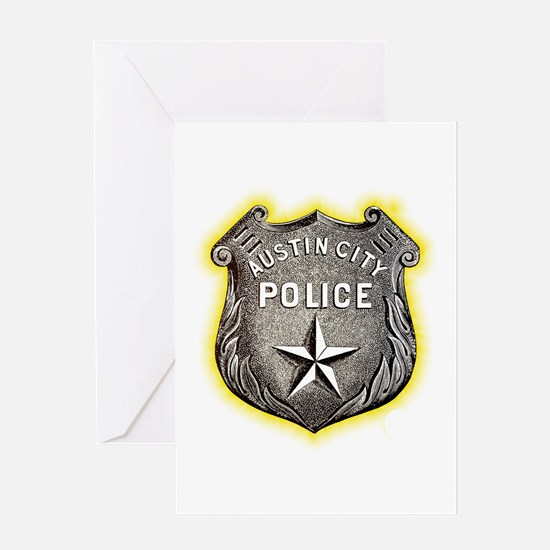 Austin City Police Greeting Card