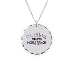 Arabian Horse Kellogg Ranch Necklace