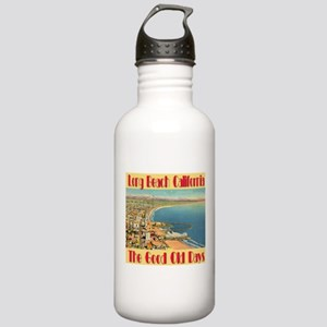 Long Beach California Stainless Water Bottle 1.0L
