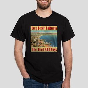 Long Beach California Dark T-Shirt