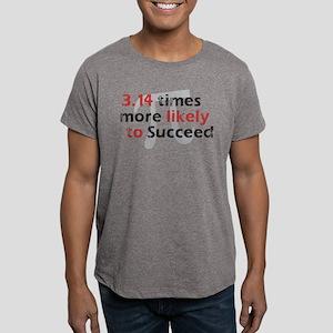 Pi Success Funny Math Men's Fitted T-Shirt (dark)
