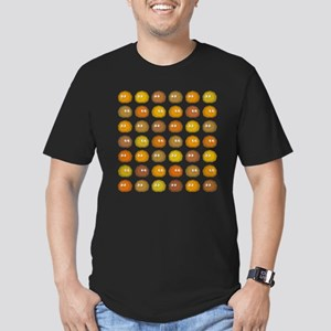 A lot of Tribbles Men's Fitted T-Shirt (dark)