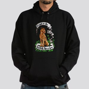 Proud Irish Terrier Hoodie (dark)