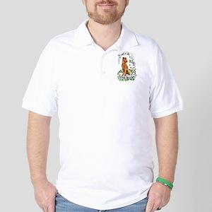 Proud Irish Terrier Golf Shirt