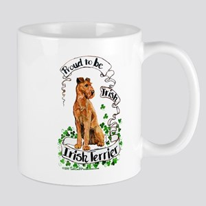 Proud Irish Terrier Mug