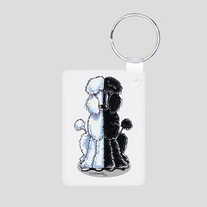 Double Standard Aluminum Photo Keychain