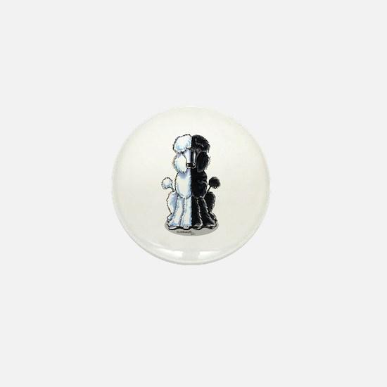 Double Standard Mini Button