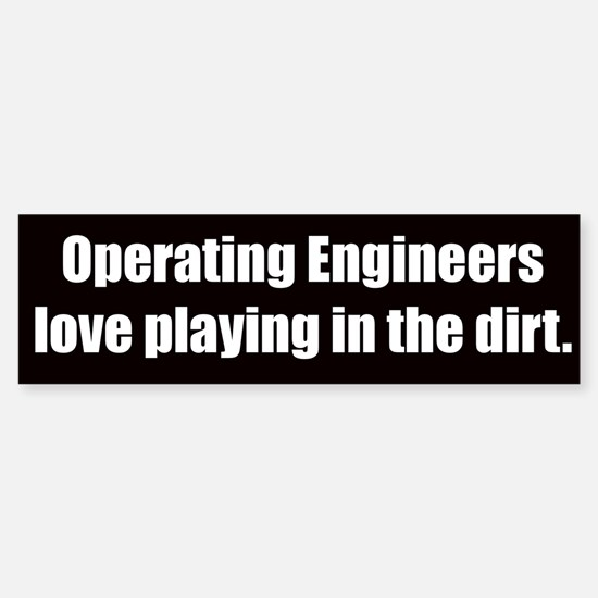 Operating Engineers (Bumper sticker)