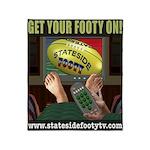 Stateside Footy TV Throw Blanket