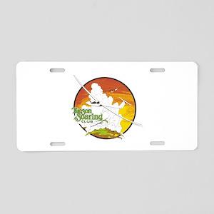 TUCSON SOARING CLUB Aluminum License Plate