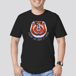 This is How I Roll Skee Ball Men's Fitted T-Shirt