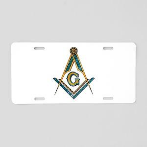 S & C Aluminum License Plate