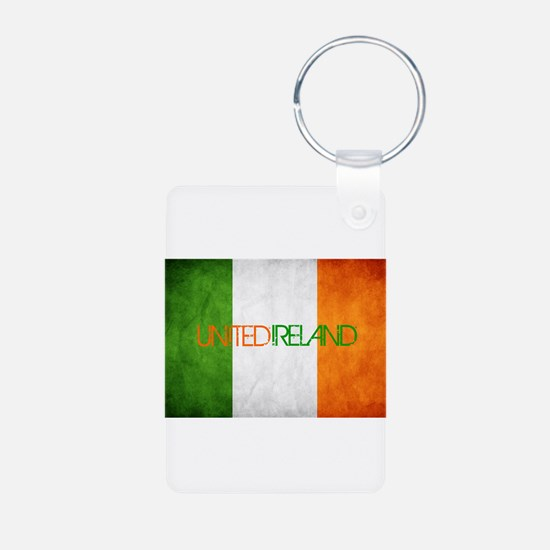 Funny Ireland Aluminum Photo Keychain