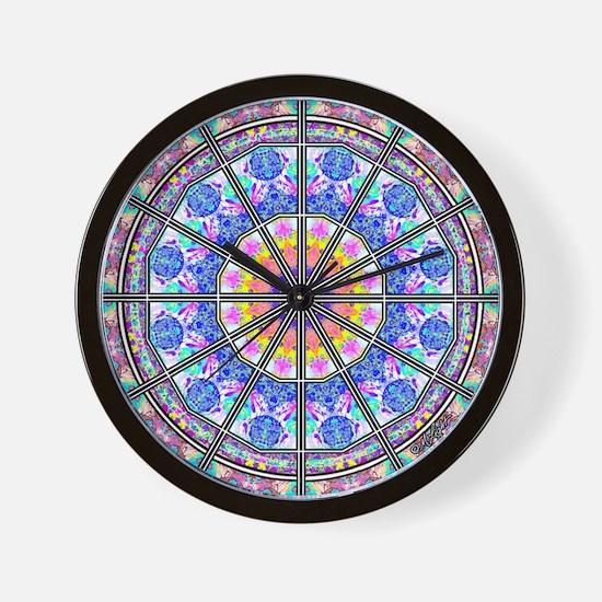 <b>MANDALA SERIES:</b> Mandala Wall Clock