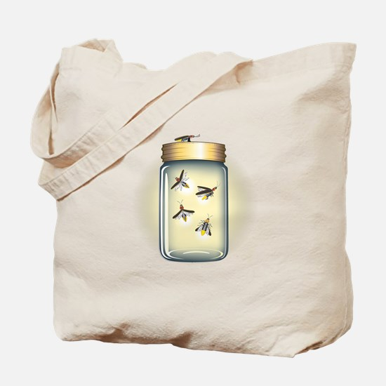Cute Fireflies Tote Bag