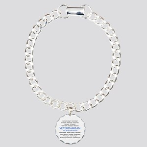 Veterinarian The All-In-One D Charm Bracelet, One