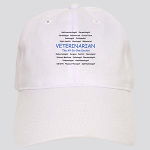 Veterinarian The All-In-One D Cap