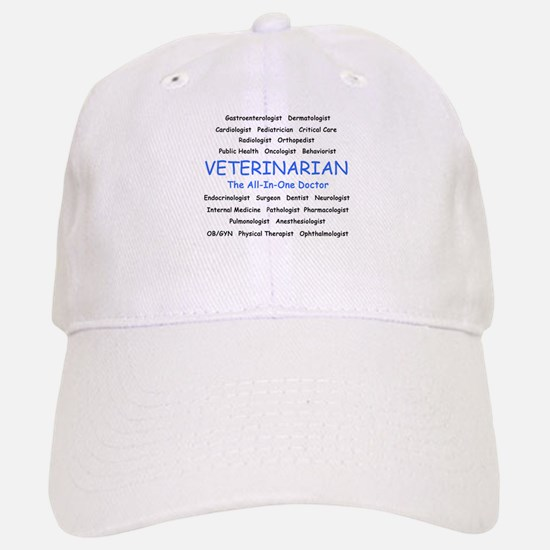 Veterinarian The All-In-One D Baseball Baseball Cap