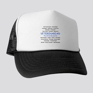 Veterinarian The All-In-One D Trucker Hat