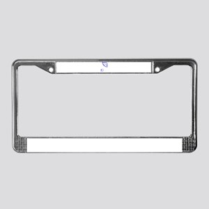 Spaced Apart License Plate Frame