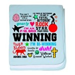 Quotes baby blanket