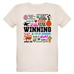 Quotes Organic Kids T-Shirt