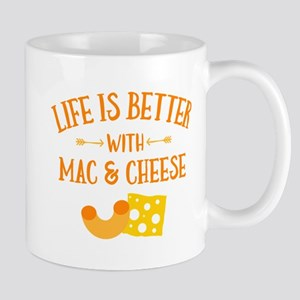 Life's Better Mac & Cheese 11 oz Ceramic Mug
