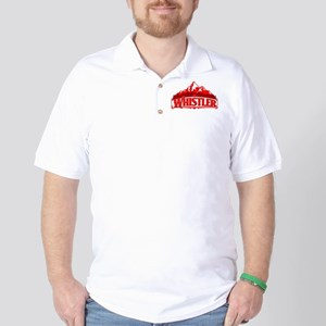 Whistler Red Mountain Golf Shirt