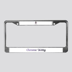 Meeoww! License Plate Frame