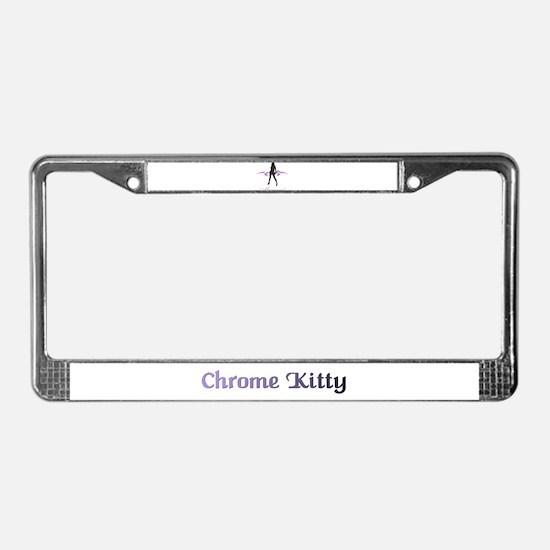 Meeoww! License Plate Frame