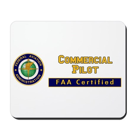 Commercial Pilot Mousepad