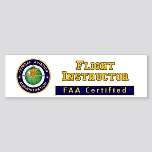Flight Instructor Sticker (Bumper)