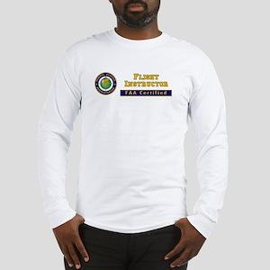 Flight Instructor Long Sleeve T-Shirt