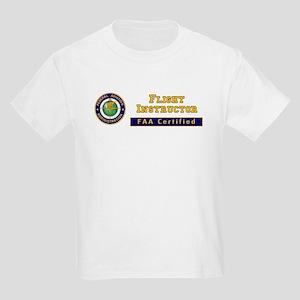 Flight Instructor Kids Light T-Shirt