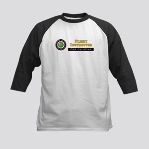 Flight Instructor Kids Baseball Jersey