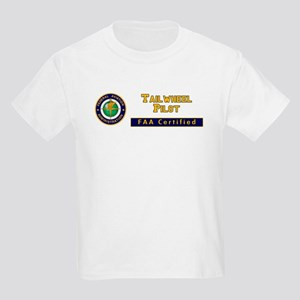 Tailwheel Pilot Kids Light T-Shirt