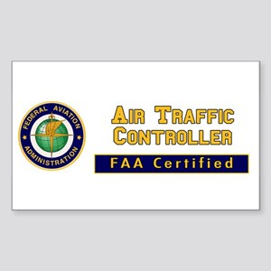 Air Traffic Controller Sticker (Rectangle)