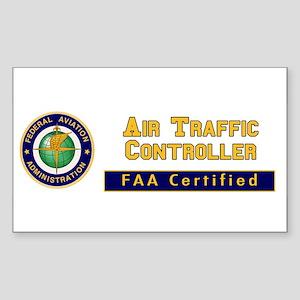 Air Traffic Controller Sticker (Rectangle)