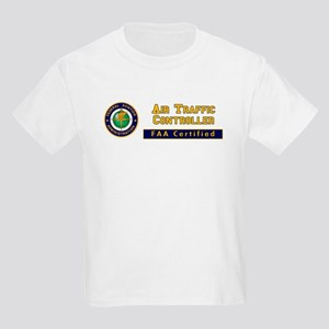 Air Traffic Controller Kids Light T-Shirt