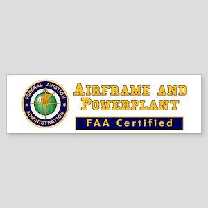 Airframe & Powerplant Sticker (Bumper)