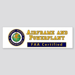 Airframe & Powerplant Sticker (Bumper)