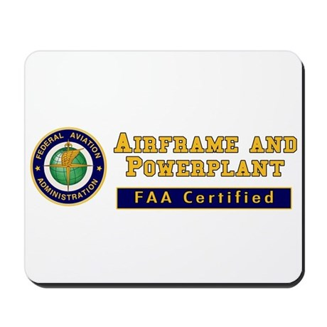 Airframe & Powerplant Mousepad