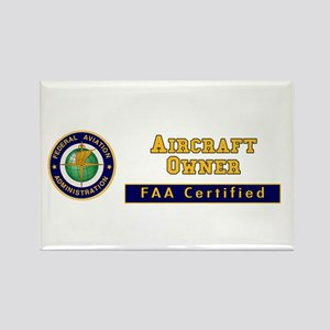 Aircraft Owner Rectangle Magnet