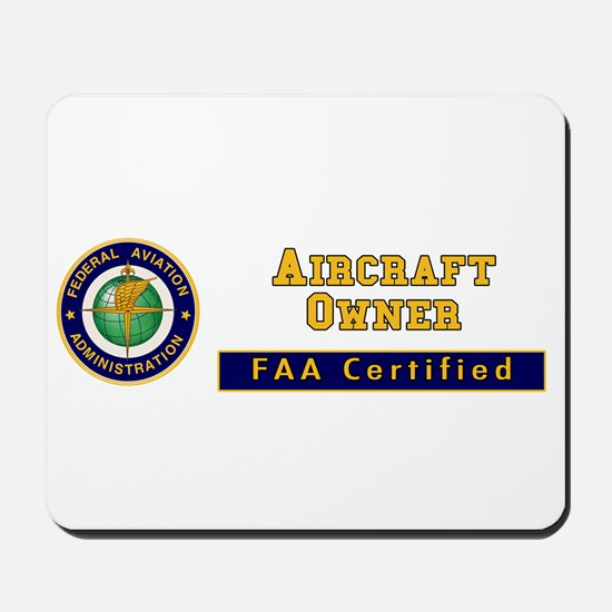 Aircraft Owner Mousepad