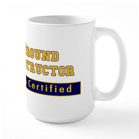 Ground Instructor Large Mug